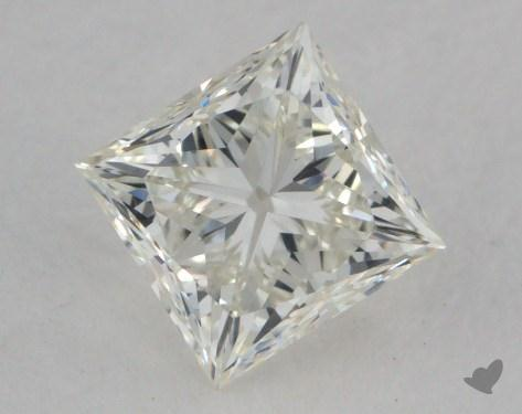 0.74 Carat J-VVS2 Very Good Cut Princess Diamond