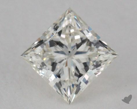 0.71 Carat I-SI1 Ideal Cut Princess Diamond