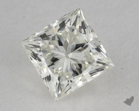 0.75 Carat K-SI1 Ideal Cut Princess Diamond