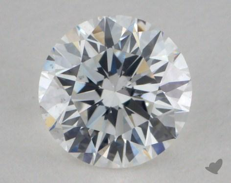 0.72 Carat F-VS2 Excellent Cut Round Diamond