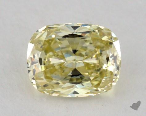 1.07 Carat  yellow-SI2 Cushion Cut Diamond