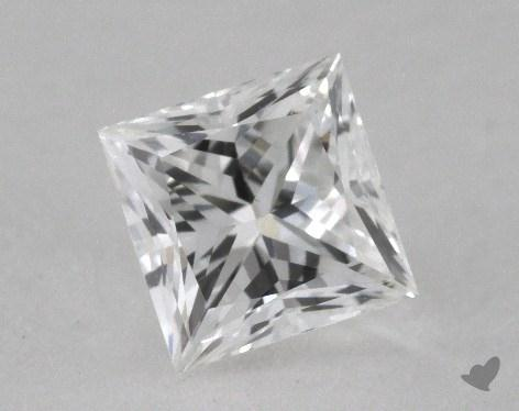 0.70 Carat F-VS1 Princess Cut Diamond