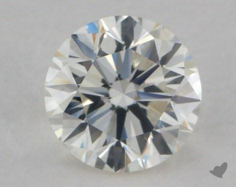 0.70 Carat K-VS1 Very Good Cut Round Diamond