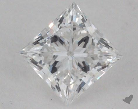 <b>0.36</b> Carat E-SI2 Princess Cut Diamond