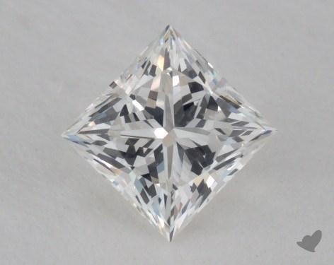 0.55 Carat H-VVS2 Ideal Cut Princess Diamond