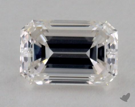0.83 Carat F-VVS1 Emerald Cut Diamond