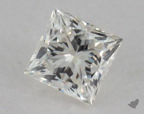 0.31 Carat I-VS1 Very Good Cut Princess Diamond