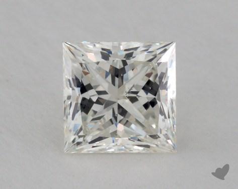 1.24 Carat I-SI1 Ideal Cut Princess Diamond