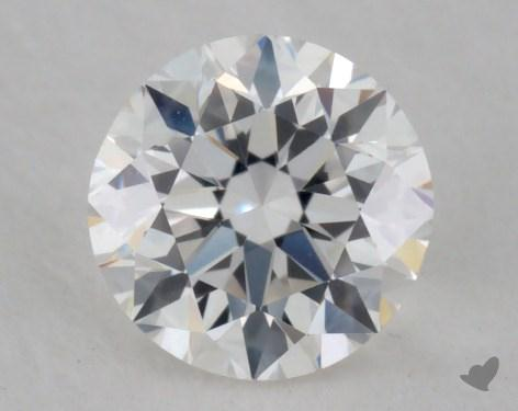 0.52 Carat F-VS1 Very Good Cut Round Diamond