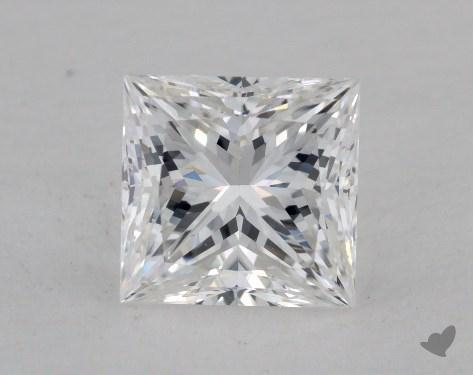1.04 Carat E-SI1 Ideal Cut Princess Diamond