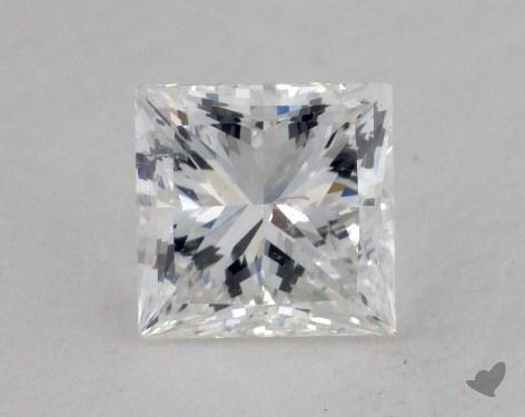 1.00 Carat G-SI2 Ideal Cut Princess Diamond