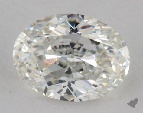 0.81 Carat H-IF Oval Cut Diamond