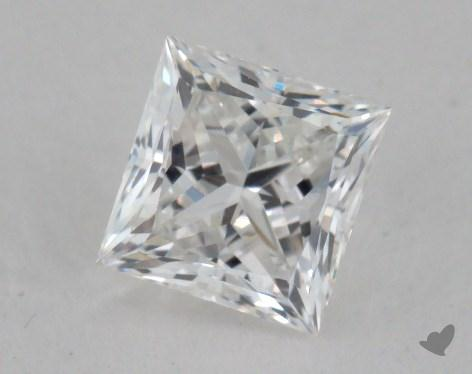0.70 Carat F-VS2 Ideal Cut Princess Diamond