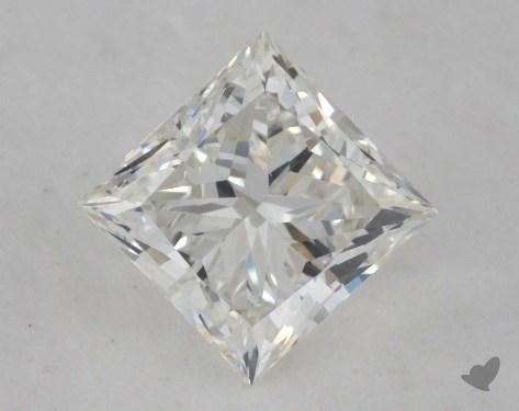 0.71 Carat I-SI1 Princess Cut  Diamond