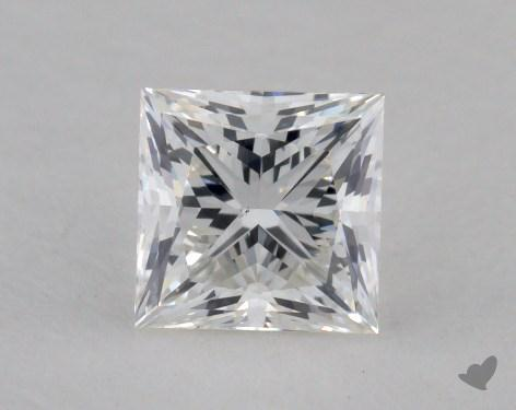 0.70 Carat F-VS2 Excellent Cut Princess Diamond