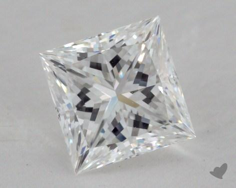 1.55 Carat E-VS1 Princess Cut  Diamond