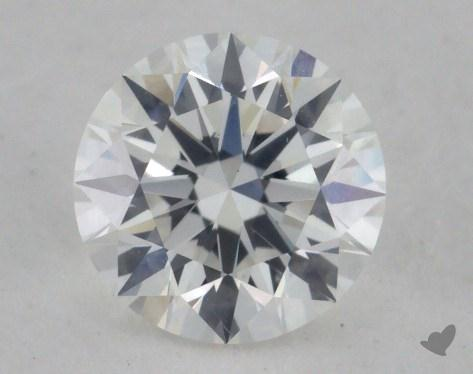 0.73 Carat F-VS2 Excellent Cut Round Diamond