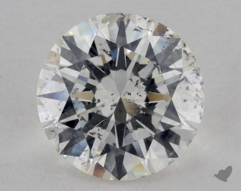 2.50 Carat H-SI2 Excellent Cut Round Diamond
