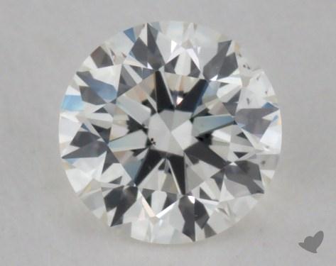 0.55 Carat I-VS2 Excellent Cut Round Diamond