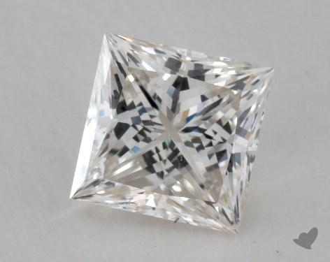 1.07 Carat J-SI1 Ideal Cut Princess Diamond