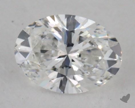 0.50 Carat E-VS2 Oval Cut Diamond
