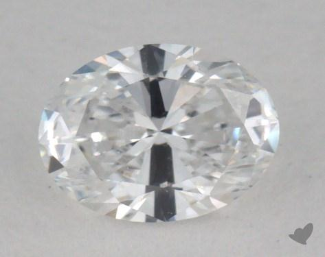 0.30 Carat D-VVS2 Oval Cut Diamond