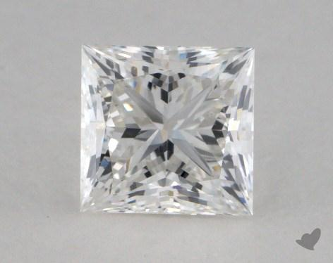 0.81 Carat F-VS2 Princess Cut  Diamond