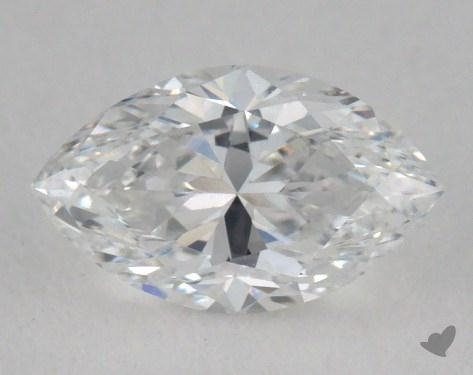 0.53 Carat D-VS1 Marquise Cut  Diamond