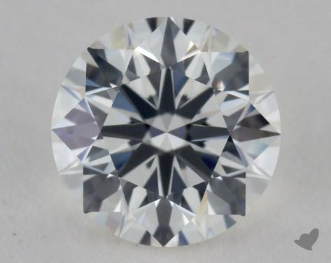 1.01 Carat H-VS1 Ideal Cut Round Diamond