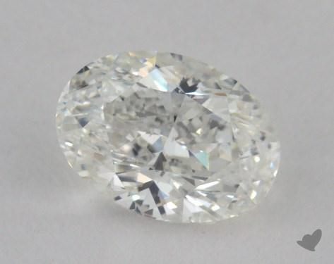 0.70 Carat E-SI2 Oval Cut Diamond