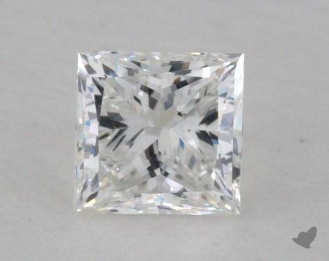 1.00 Carat F-SI1 Very Good Cut Princess Diamond
