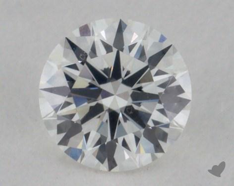0.26 Carat G-VVS2 Excellent Cut Round Diamond