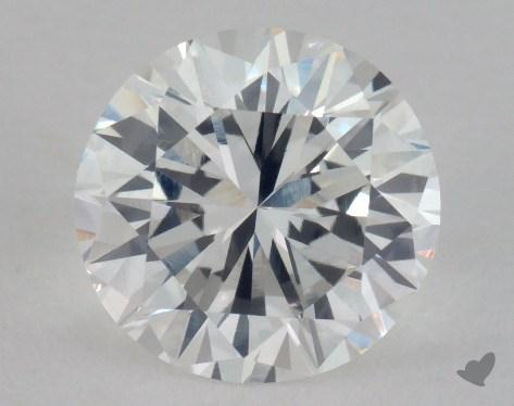 1.67 Carat D-VS1 Good Cut Round Diamond