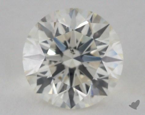 2.26 Carat J-SI1 Excellent Cut Round Diamond