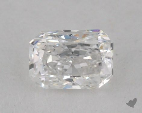 0.57 Carat E-SI1 Radiant Cut Diamond
