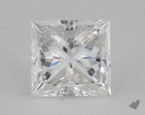 0.36 Carat E-SI2 Princess Cut  Diamond