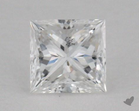 0.36 Carat E-SI2 Ideal Cut Princess Diamond
