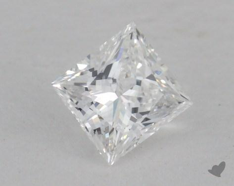 0.56 Carat D-VS1 Very Good Cut Princess Diamond