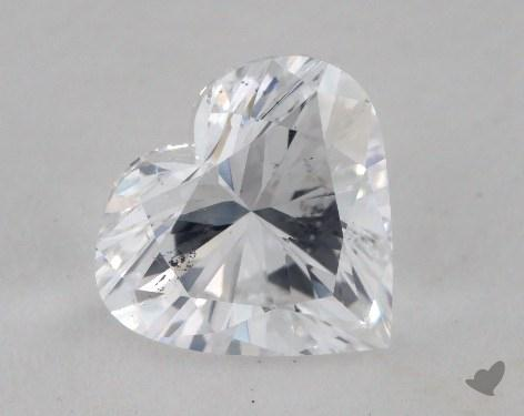 1.51 Carat E-SI2 Heart Shaped  Diamond