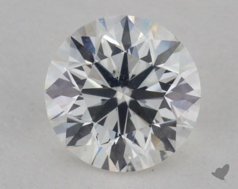 0.70 Carat H-SI2 Very Good Cut Round Diamond