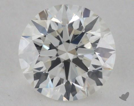 0.70 Carat I-VVS2 Excellent Cut Round Diamond