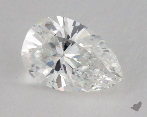 1.06 Carat E-SI1 Pear Shaped  Diamond
