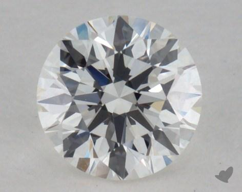 0.50 Carat H-VVS2 Excellent Cut Round Diamond