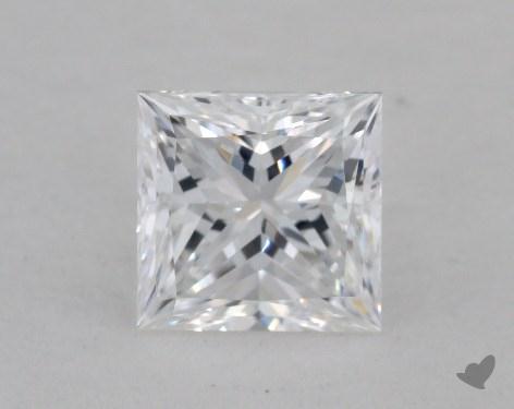 0.85 Carat D-VVS2 Excellent Cut Princess Diamond