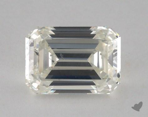 5.38 Carat J-SI1 Emerald Cut  Diamond