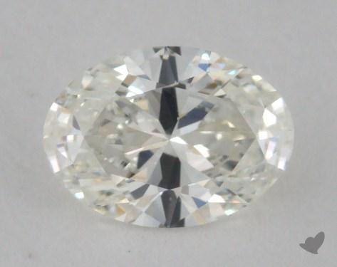 0.50 Carat H-IF Oval Cut Diamond