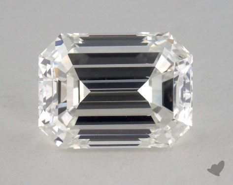1.50 Carat H-VS2 Emerald Cut Diamond