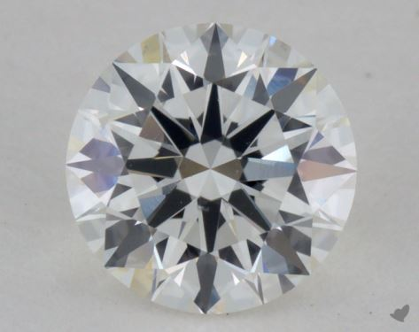 0.76 Carat H-VS2 True Hearts<sup>TM</sup> Ideal Diamond