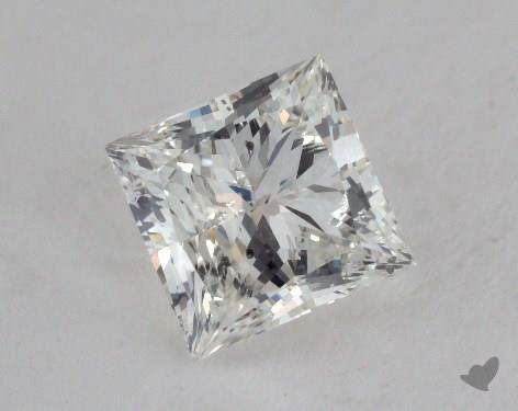 1.51 Carat G-SI2 Very Good Cut Princess Diamond