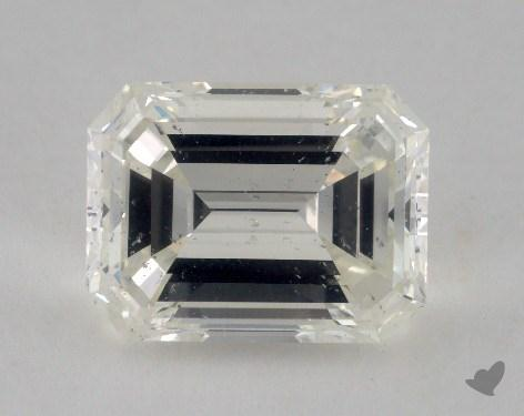 5.51 Carat J-SI2 Emerald Cut Diamond
